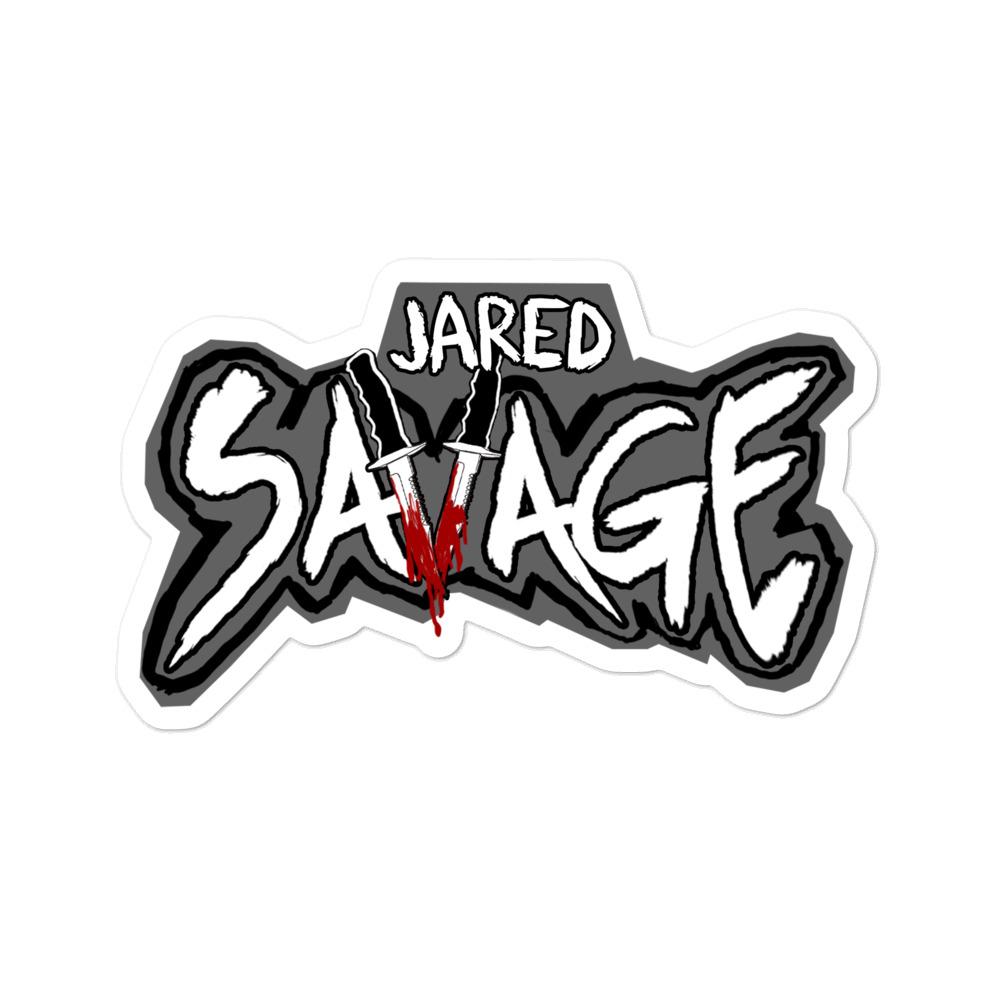 Savage Kiss-Cut Stickers
