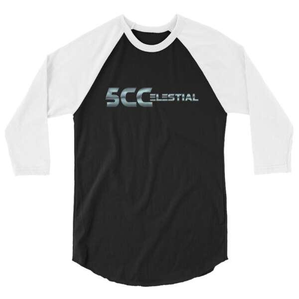 "5CC Wrestling ""5CCelestial"" 3/4 sleeve raglan shirt"