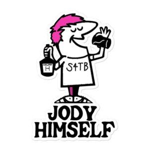 """Jody Himself """"Little Jody's"""" Bubble-free stickers"""