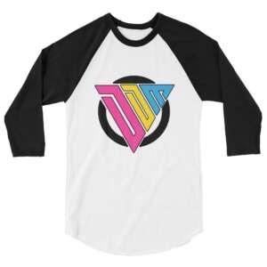 "Don't Die Miles ""DDM Logo"" 3/4 sleeve raglan shirt"