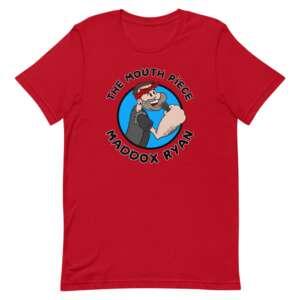 "Maddox Ryan ""The Mouth Piece"" Short-Sleeve Unisex T-Shirt"