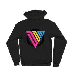 """Don't Die Miles """"DDM Logo"""" Unisex Zip Up Hoodie"""