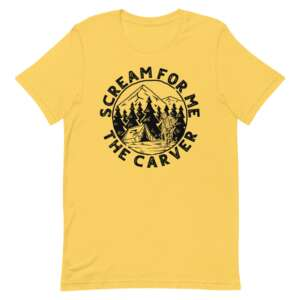 """The Carver of Cutters Alley """"Camp Carver"""" Short-Sleeve Unisex T-Shirt"""