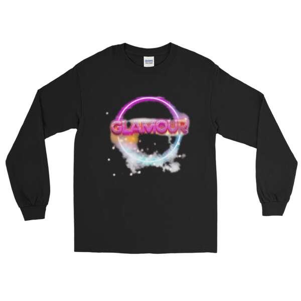 """GLAMOUR """"Logo"""" Unisex Long Sleeve Shirt"""