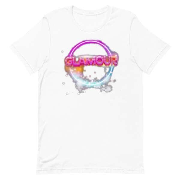 """GLAMOUR """"Logo"""" Short-Sleeve Unisex T-Shirt"""