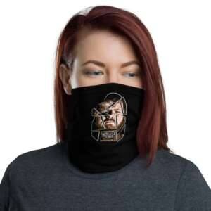 "LumberZack ""Glass Face"" Neck Gaiter Face Mask"