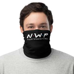 """North West Pro """"NWP Friends"""" Neck Gaiter Face Mask"""