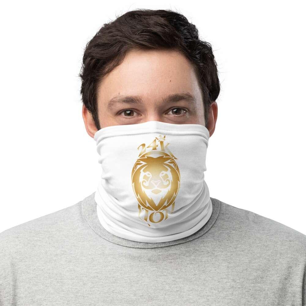 "Jeremiah Goldmain ""24KLP Alt Logo"" Neck Gaiter Face Mask"