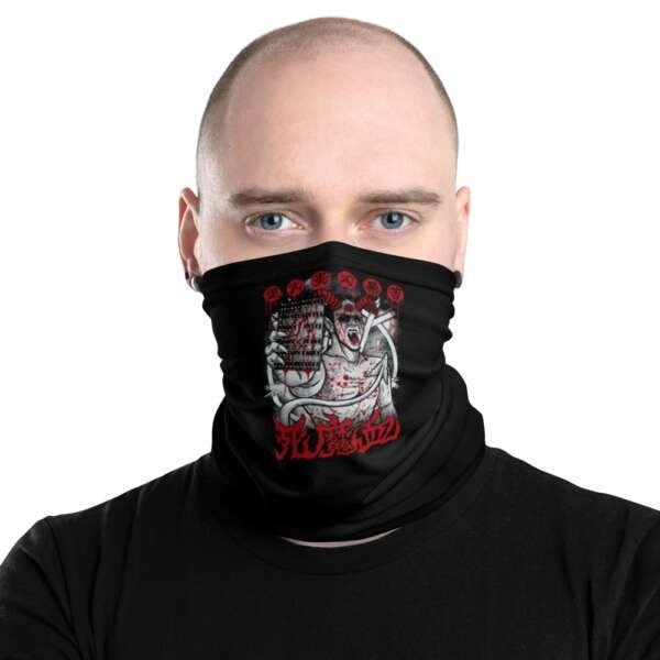 "Raven Havok ""Demon Of Deathmatch"" Neck Gaiter Face Mask"