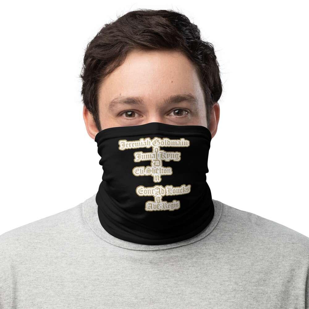 "Jeremiah Goldmain ""Golden Age pt2"" Neck Gaiter Face Mask"