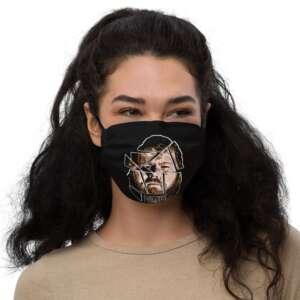 "LumberZack ""Glass Face"" Premium face mask"