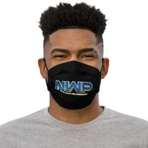 "North West Pro ""NWP Show Logo"" Premium face mask"
