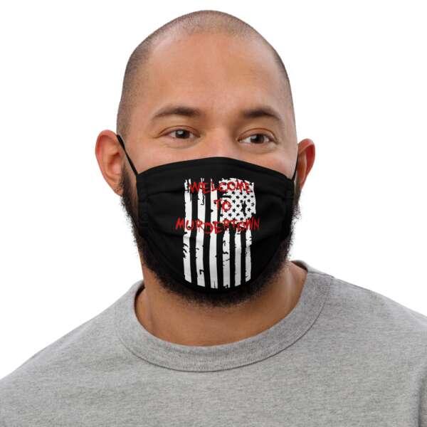 "Raven Havok ""Welcome To Murdertown"" Premium face mask"