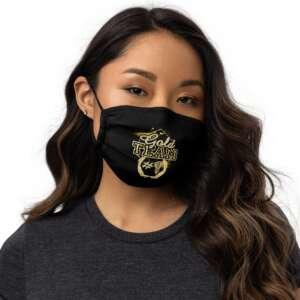 "Jeremiah Goldmain ""Gold Team"" Premium face mask"