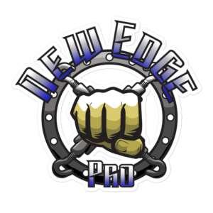 """New Edge Pro Wrestling """"New Edge Pro"""" Bubble-free stickers"""