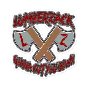 "LumberZack ""ACE"" Bubble-free stickers"