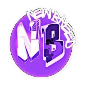 """Gen Z """"New Breed"""" Bubble-free stickers"""