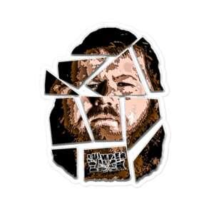 "LumberZack ""Glass Face"" Bubble-free stickers"
