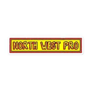 """North West Pro """"NWP Cartoon"""" Bubble-free stickers"""