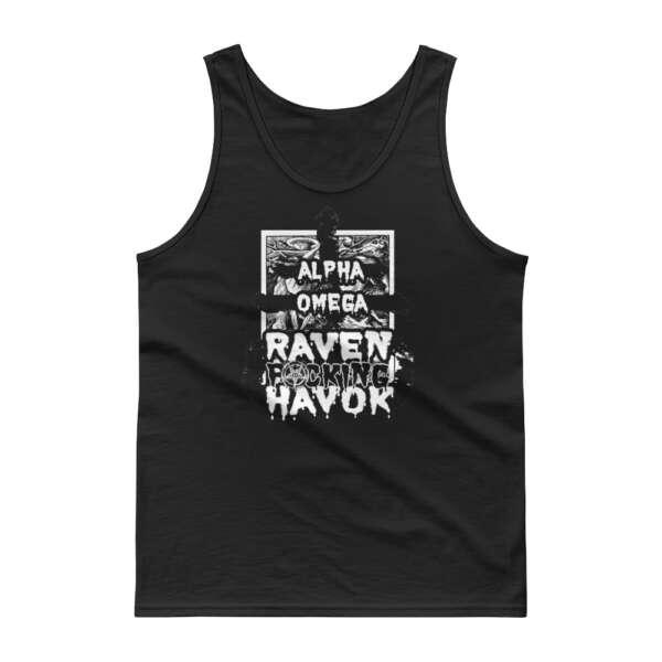 "Raven Havok ""Alpha Omega (original design)"" Unisex Tank Top"