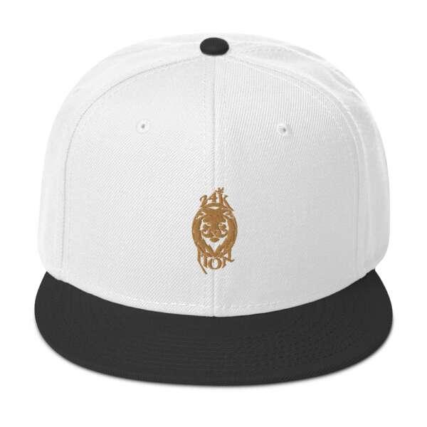 "Jeremiah Goldmain ""24KLP Alt Logo"" Snapback Hat"