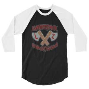 "LumberZack ""ACE"" 3/4 sleeve raglan shirt"
