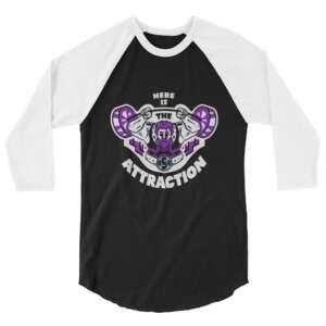 "James Maxson ""Big Strong Boi"" 3/4 sleeve raglan shirt"