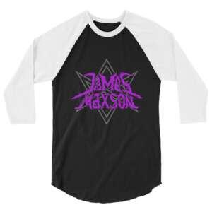 "James Maxson ""Slay thy Name"" 3/4 sleeve raglan shirt"