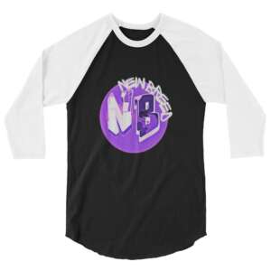 "Gen Z ""New Breed"" 3/4 sleeve raglan shirt"