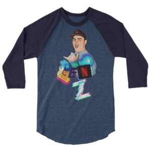 """Gen Z """"Are You Still Watching?"""" 3/4 sleeve raglan shirt"""
