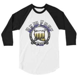 "New Edge Pro Wrestling ""New Edge Pro"" 3/4 sleeve raglan shirt"