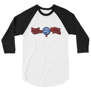 "James Maxson ""CoP"" 3/4 sleeve raglan shirt"