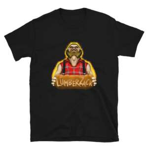 """LumberZack """"Broken Glass"""" Short-Sleeve Unisex T-Shirt"""