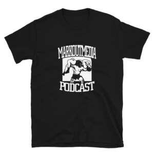 """Markoutmedia Podcast """"M.O.M. Logo"""" Short-Sleeve Unisex T-Shirt"""