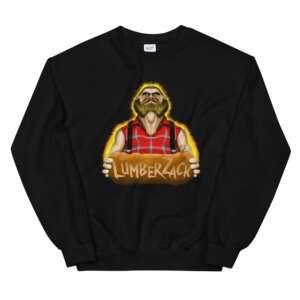 """LumberZack """"Broken Glass"""" Unisex Sweatshirt"""