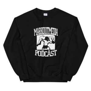 """Markoutmedia Podcast """"M.O.M. Logo"""" Unisex Sweatshirt"""