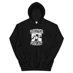 """Markoutmedia Podcast """"M.O.M. Logo"""" Unisex Hoodie"""