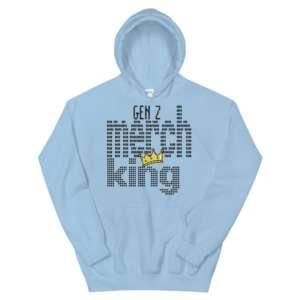 """Gen Z """"Merch King"""" Unisex Hoodie"""