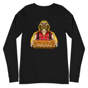 """LumberZack """"Broken Glass"""" Unisex Long Sleeve Shirt"""