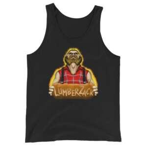 """LumberZack """"Broken Glass"""" Unisex Tank Top"""