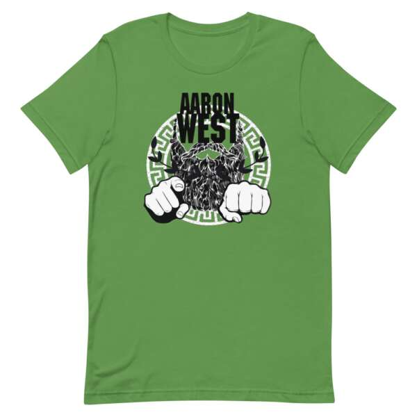 "Aaron West ""Beard Power"" Short-Sleeve Unisex T-Shirt"
