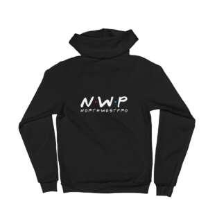 "North West Pro ""NWP Friends"" Unisex Zip Up Hoodie"