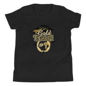 """Jeremiah Goldmain """"Gold Team"""" Youth Short Sleeve T-Shirt"""